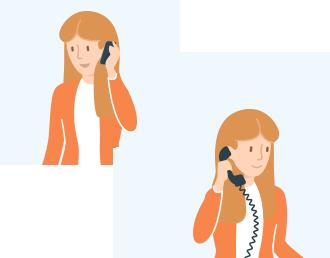 Utilisez vos propres téléphones pour recevoir vos appels clients